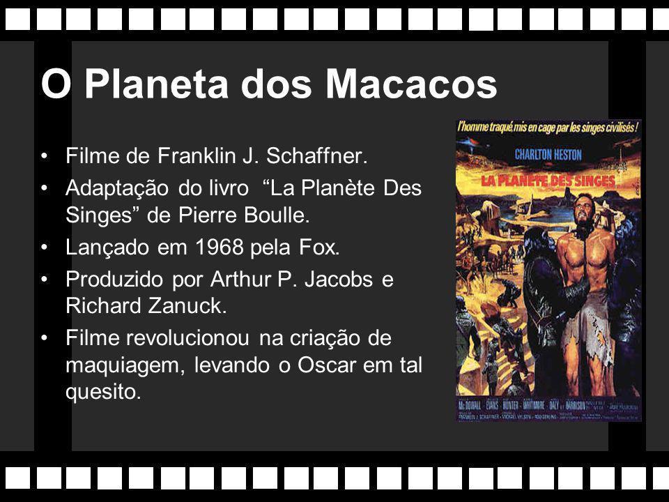 O Planeta dos Macacos Filme de Franklin J. Schaffner.