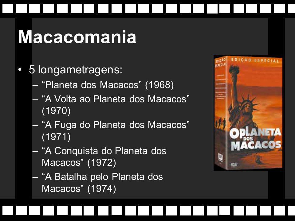 Macacomania 5 longametragens: Planeta dos Macacos (1968)