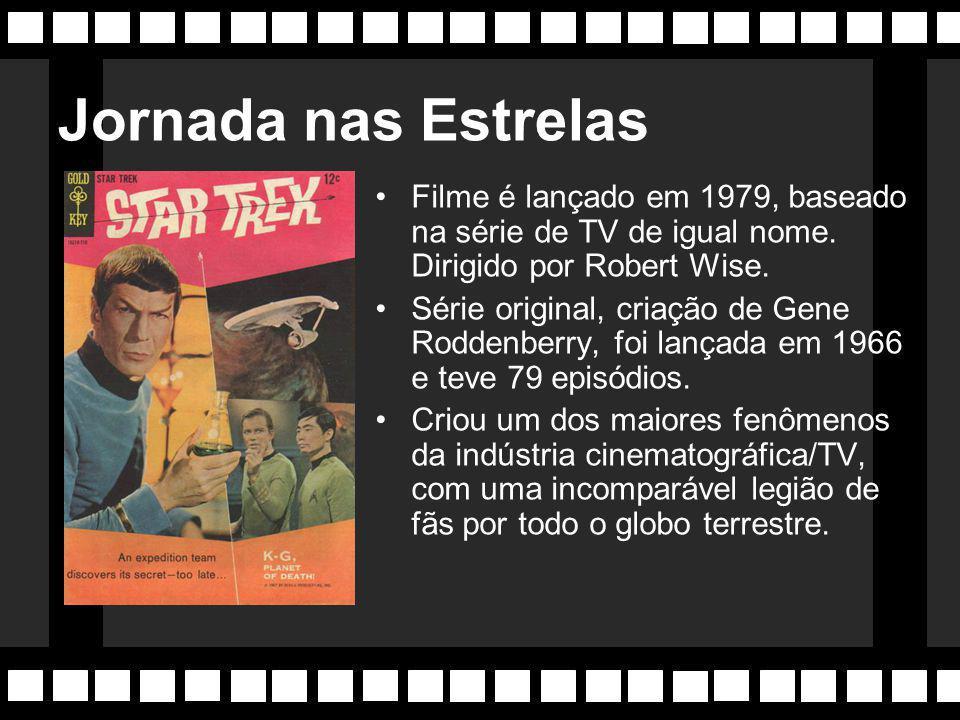 Jornada nas Estrelas Filme é lançado em 1979, baseado na série de TV de igual nome. Dirigido por Robert Wise.