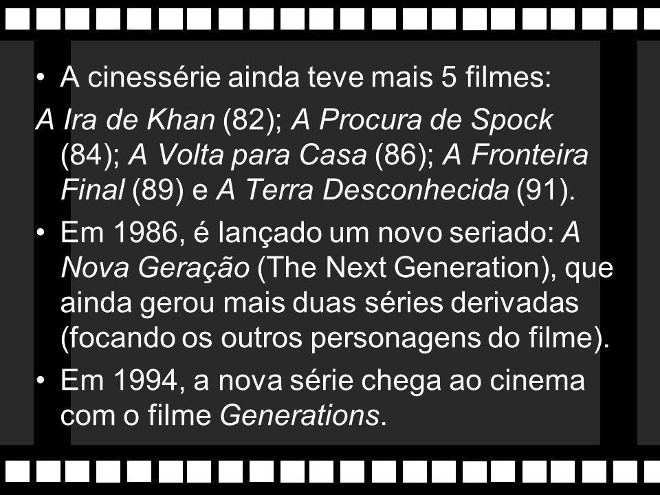 A cinessérie ainda teve mais 5 filmes: