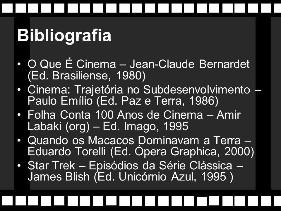 Bibliografia O Que É Cinema – Jean-Claude Bernardet (Ed. Brasiliense, 1980)