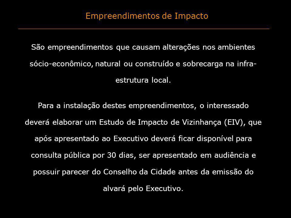 Empreendimentos de Impacto