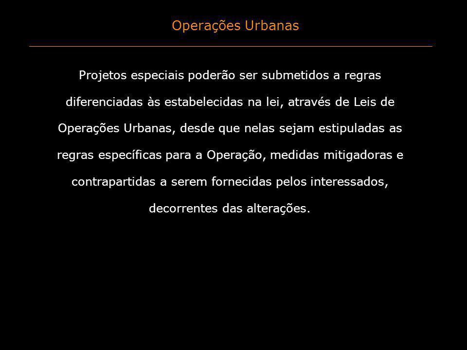 Operações Urbanas