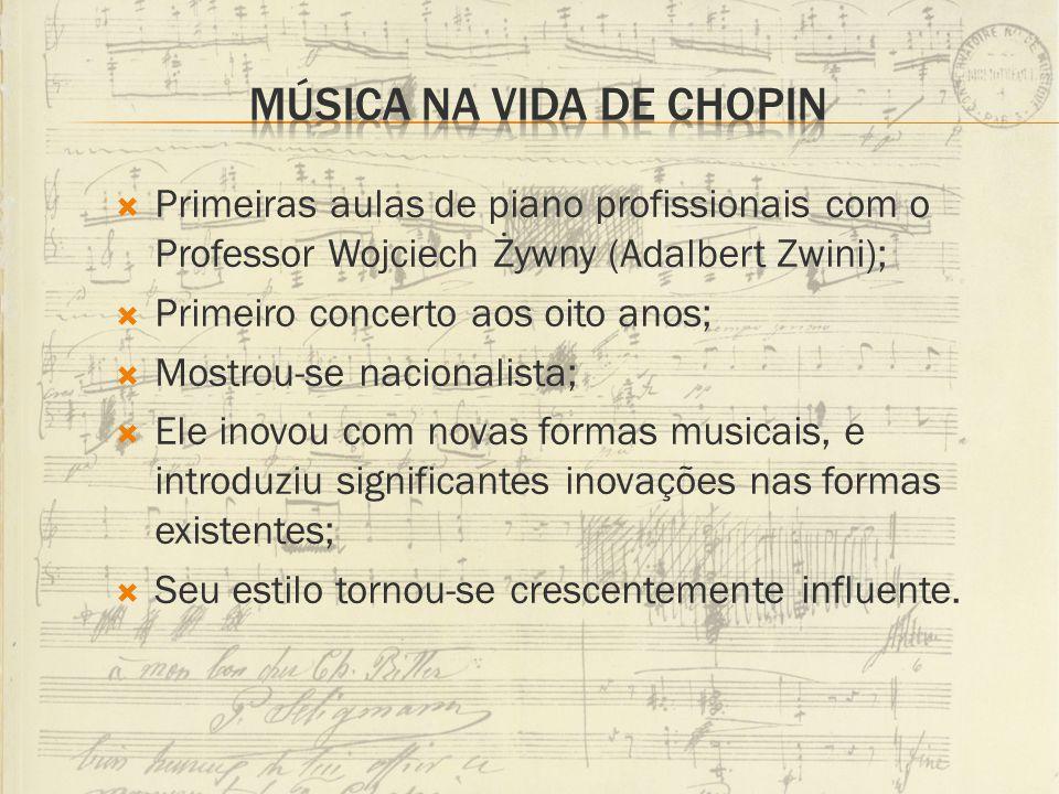 Música na vida de Chopin