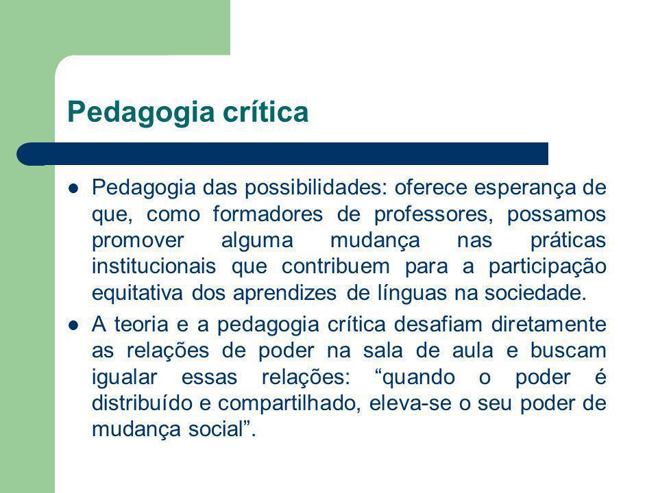 Pedagogia crítica
