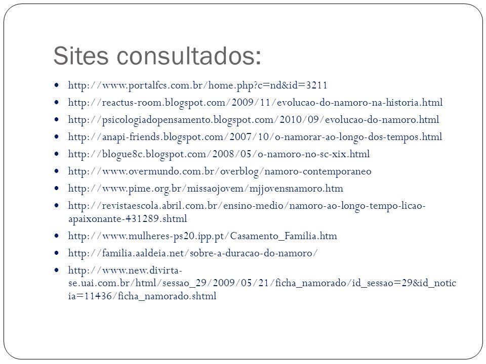 Sites consultados: http://www.portalfcs.com.br/home.php c=nd&id=3211
