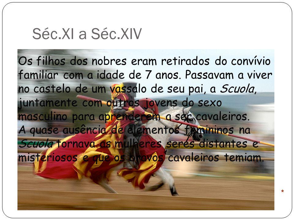 Séc.XI a Séc.XIV
