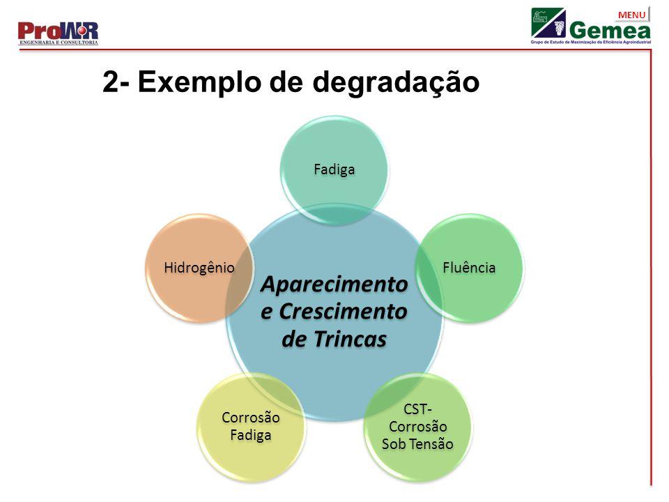 2- Exemplo de degradação