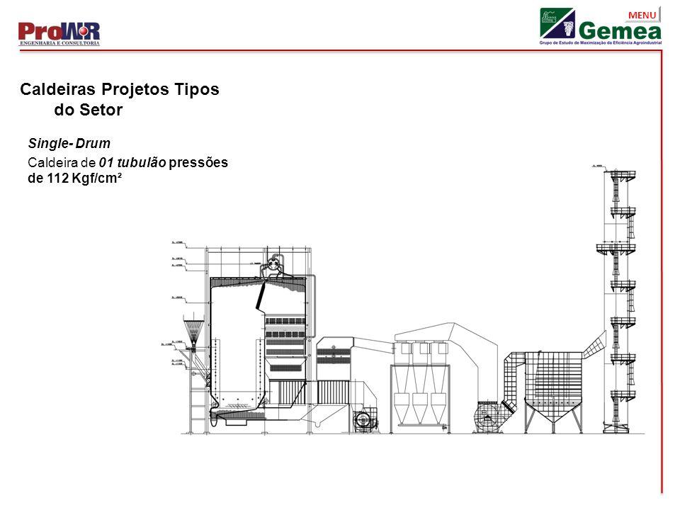 Caldeiras Projetos Tipos do Setor