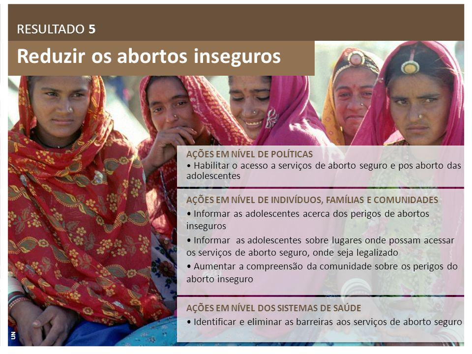 Reduzir os abortos inseguros