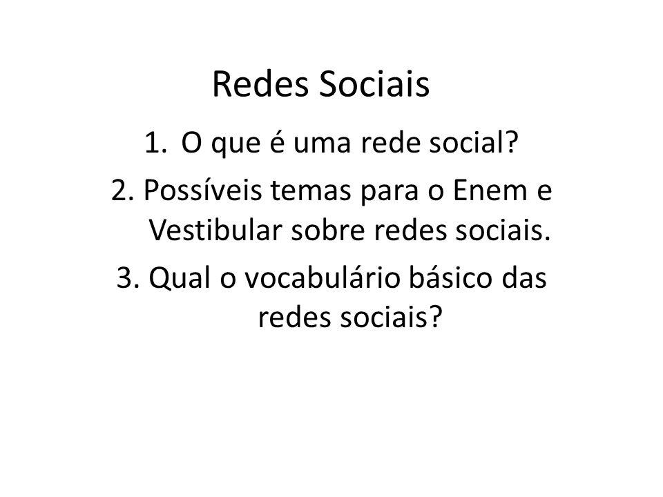 Redes Sociais O que é uma rede social