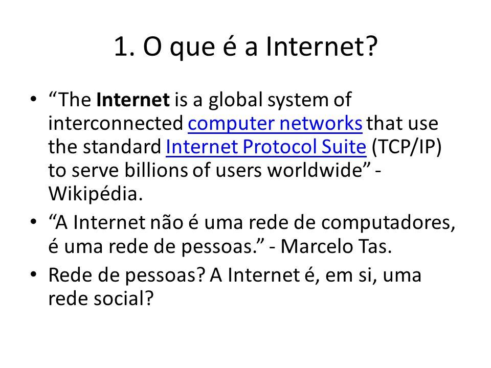 1. O que é a Internet