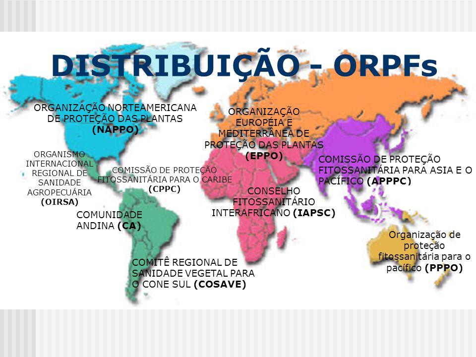 DISTRIBUIÇÃO - ORPFs (APPPC)