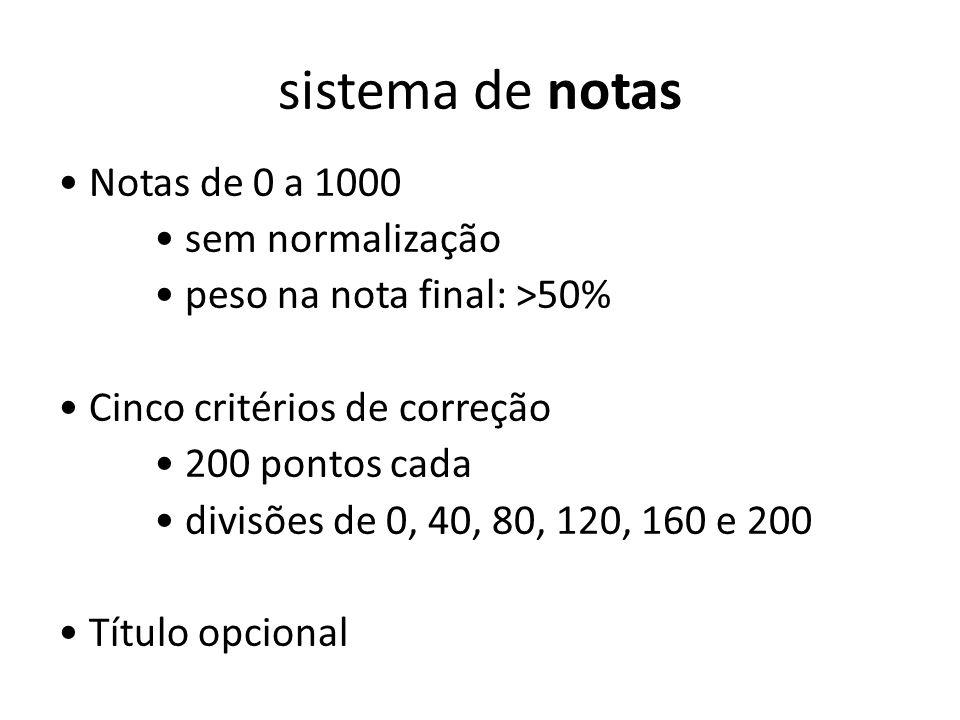 sistema de notas
