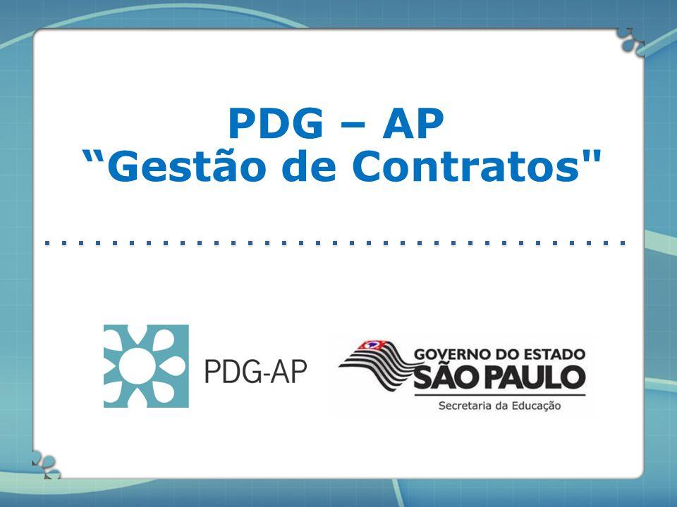 PDG – AP Gestão de Contratos