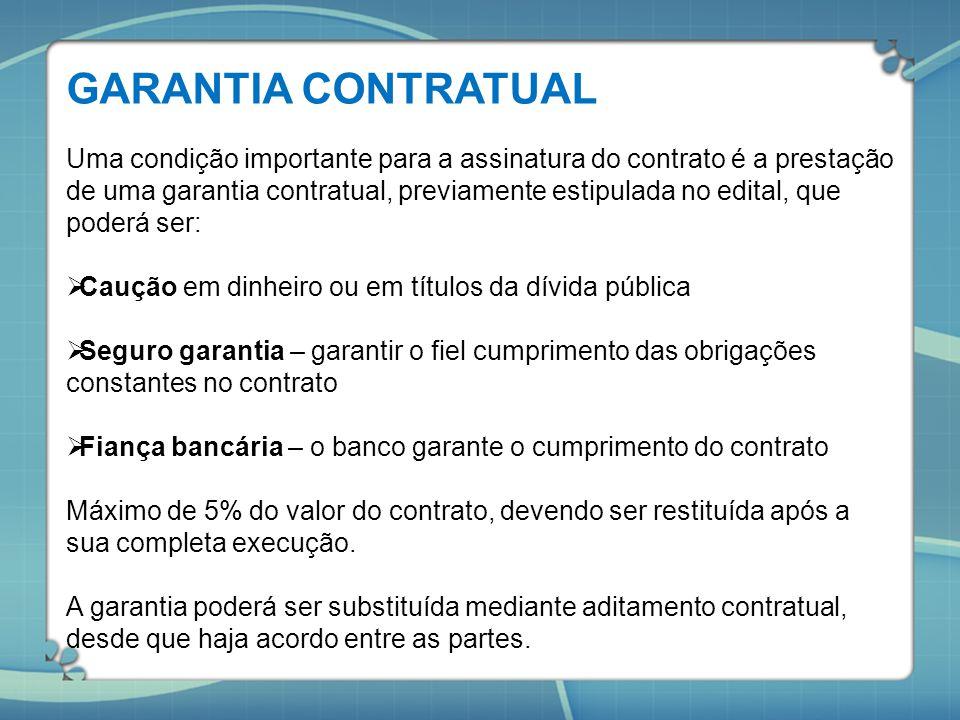 GARANTIA CONTRATUAL
