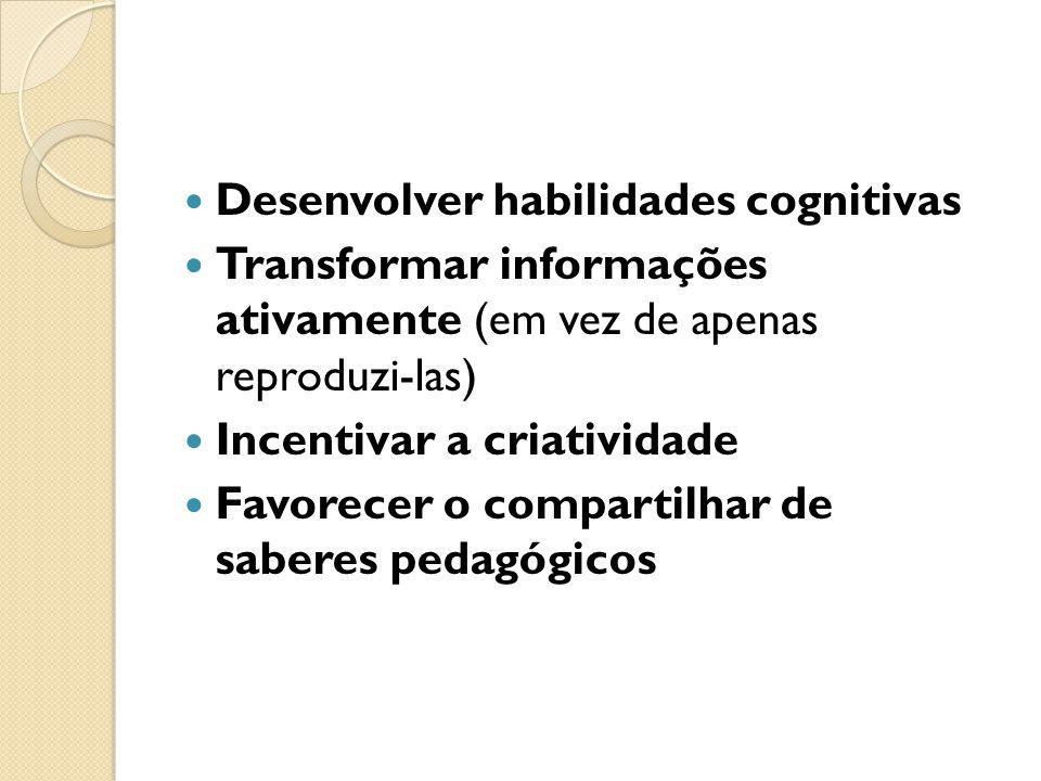 Desenvolver habilidades cognitivas