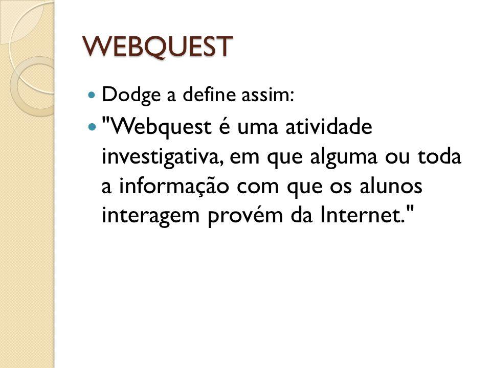 WEBQUEST Dodge a define assim: