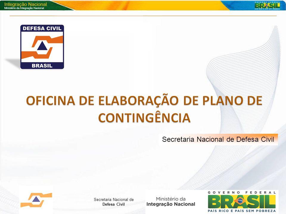 OFICINA DE ELABORAÇÃO DE PLANO DE CONTINGÊNCIA