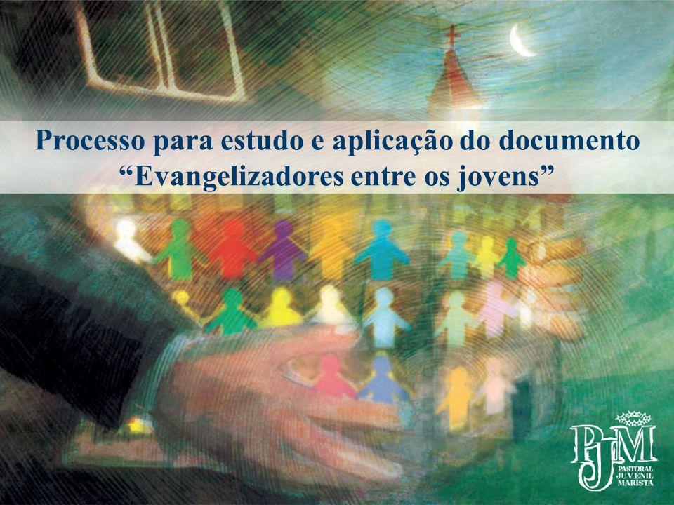 Processo para estudo e aplicação do documento Evangelizadores entre os jovens