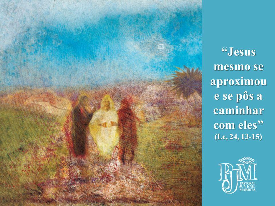 Jesus mesmo se aproximou e se pôs a caminhar com eles (Lc, 24, 13-15)
