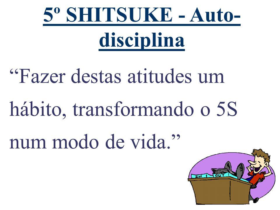 5º SHITSUKE - Auto-disciplina