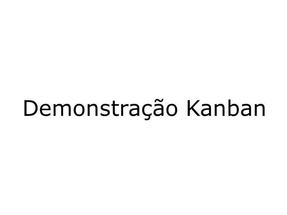 Demonstração Kanban