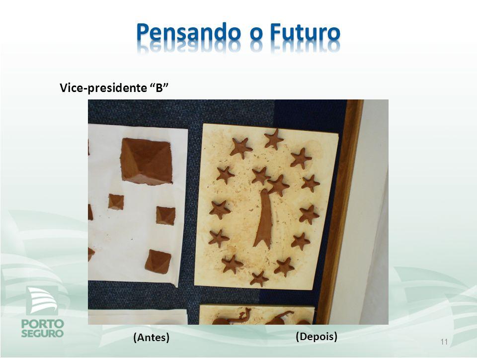 Pensando o Futuro Vice-presidente B (Antes) (Depois)