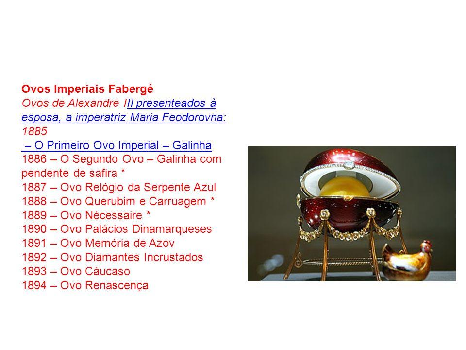 Ovos Imperiais Fabergé