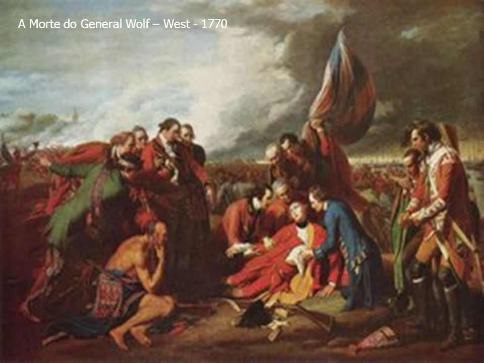 A Morte do General Wolf – West - 1770