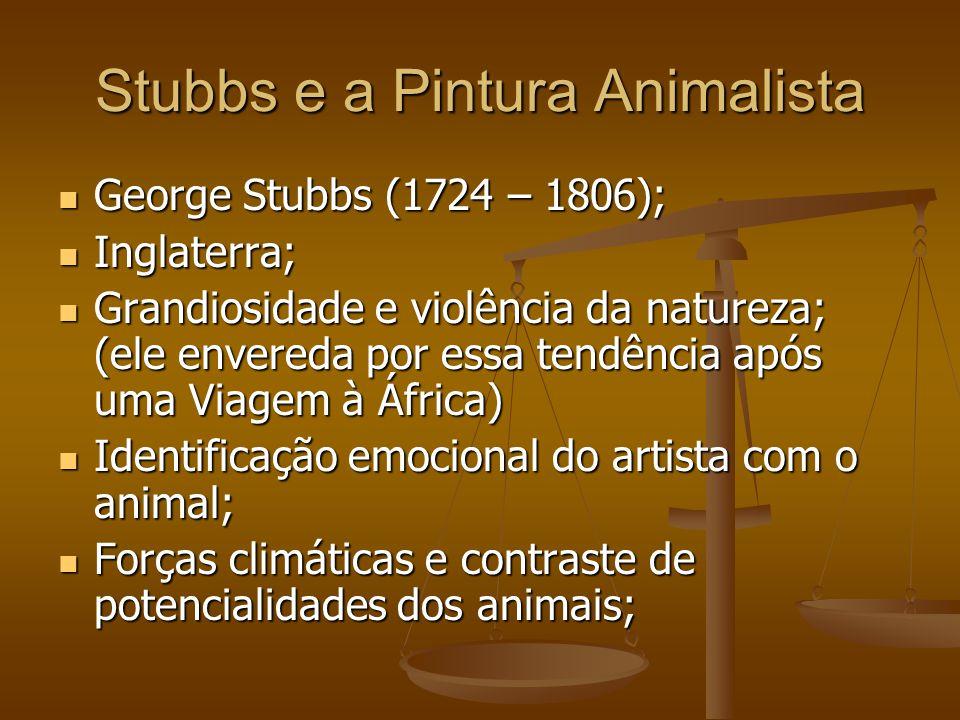 Stubbs e a Pintura Animalista