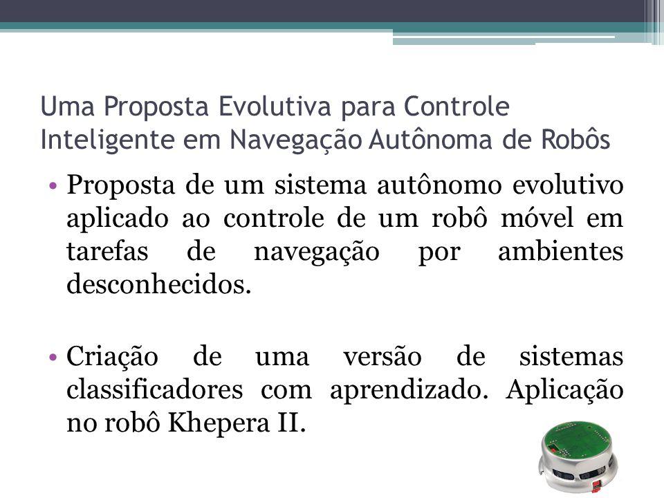 Uma Proposta Evolutiva para Controle Inteligente em Navegação Autônoma de Robôs