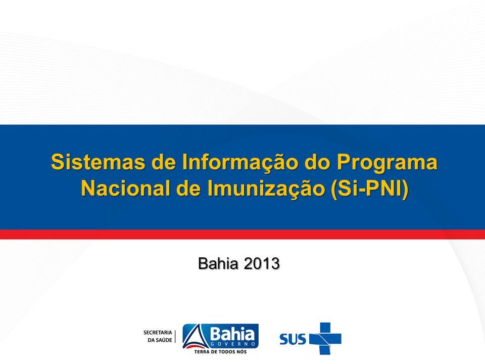 Sistemas de Informação do Programa Nacional de Imunização (Si-PNI)