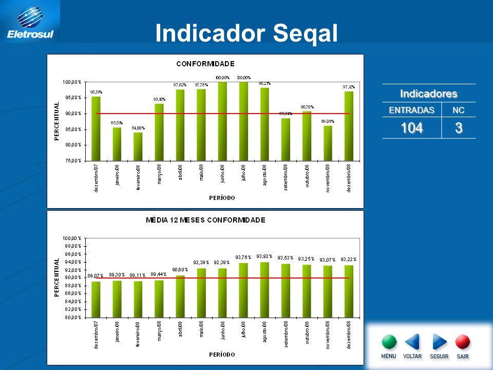 Indicador Seqal Indicadores ENTRADAS NC 104 3