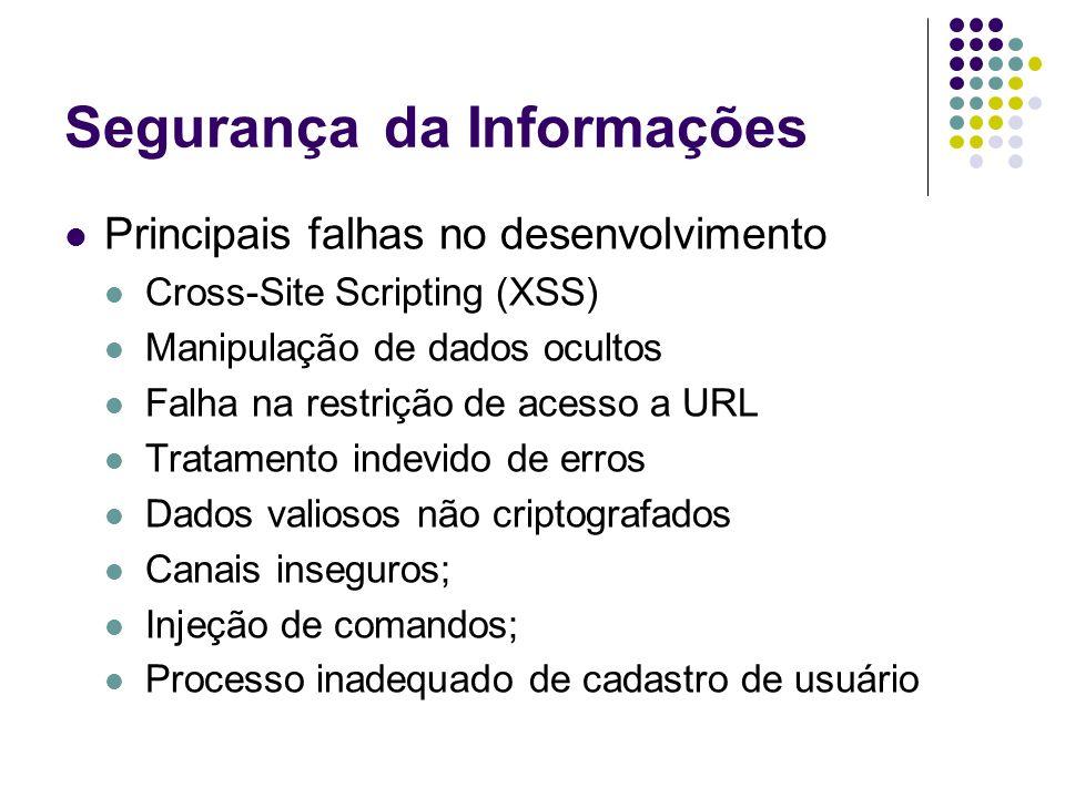 Segurança da Informações
