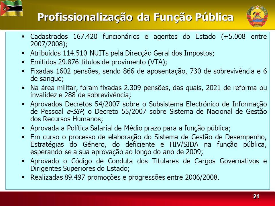 Profissionalização da Função Pública