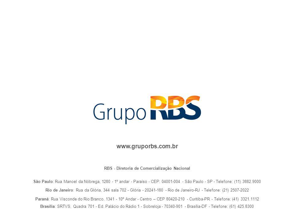 RBS - Diretoria de Comercialização Nacional