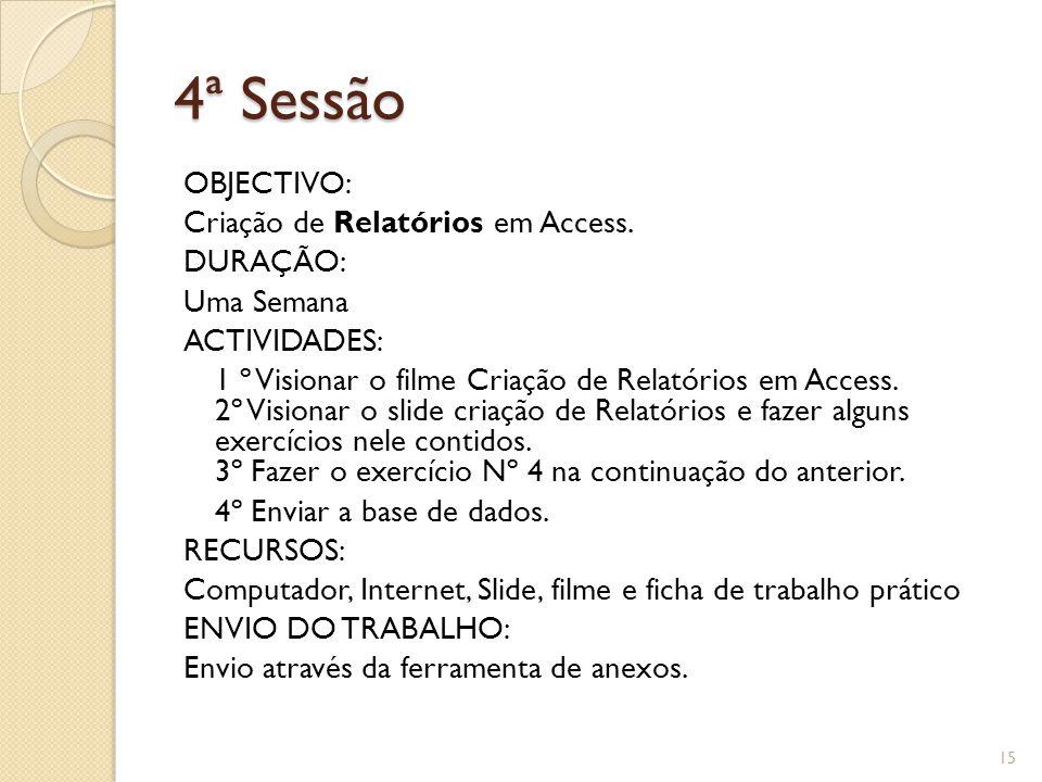 4ª Sessão