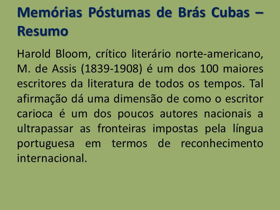 Memórias Póstumas de Brás Cubas – Resumo