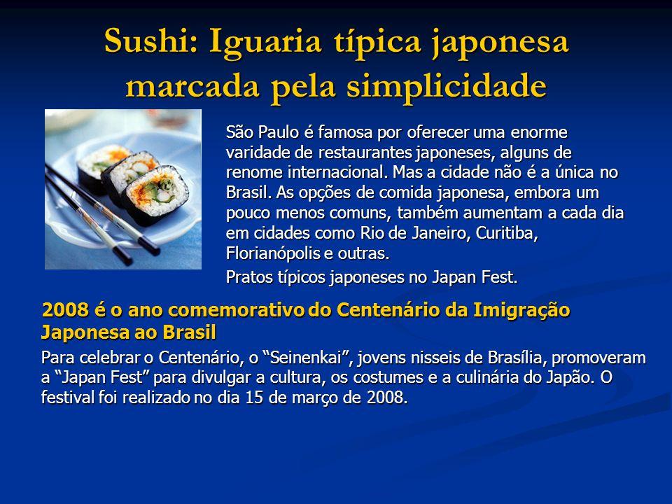 Sushi: Iguaria típica japonesa marcada pela simplicidade