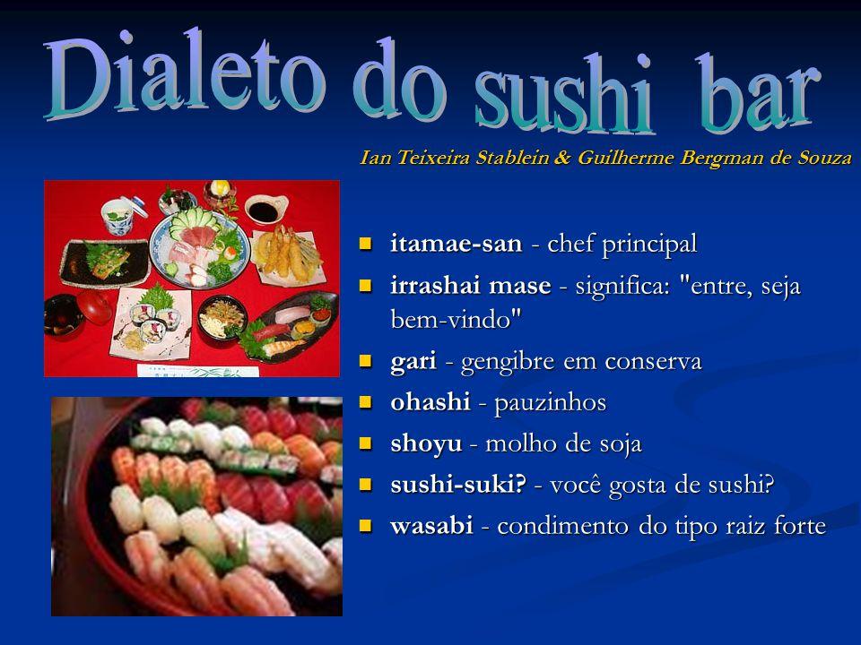 itamae-san - chef principal