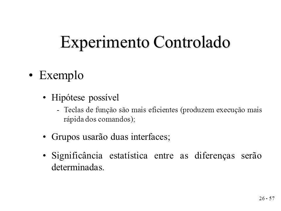 Experimento Controlado
