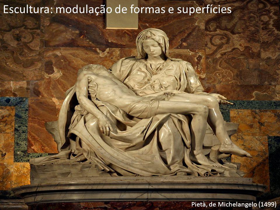 Escultura: modulação de formas e superfícies
