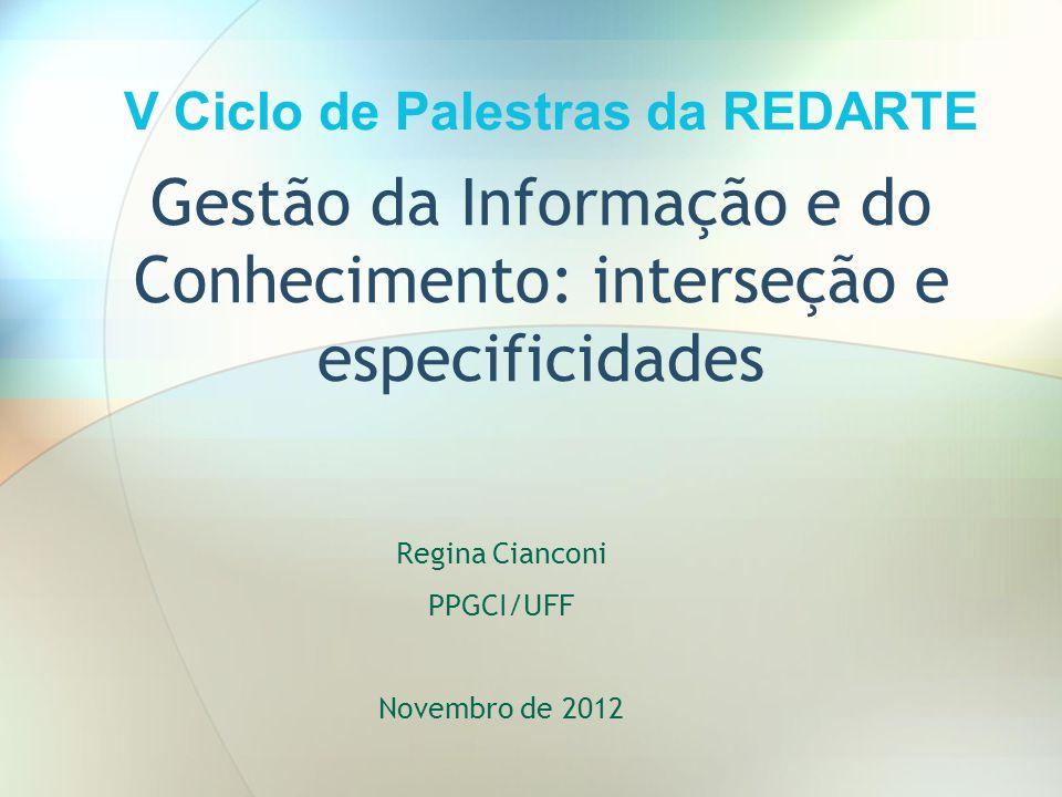 Gestão da Informação e do Conhecimento: interseção e especificidades
