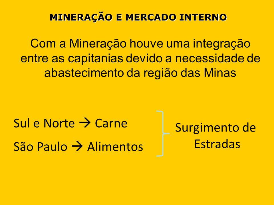 MINERAÇÃO E MERCADO INTERNO