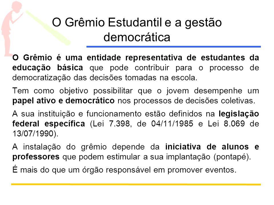 O Grêmio Estudantil e a gestão democrática