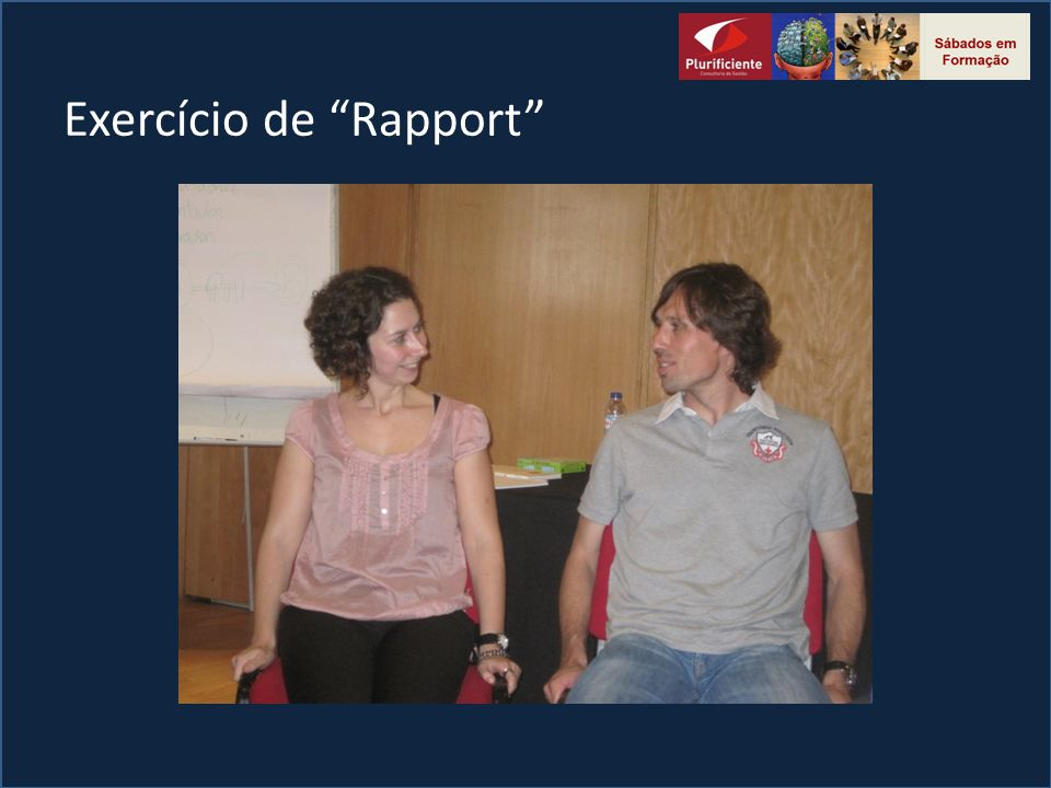 Exercício de Rapport