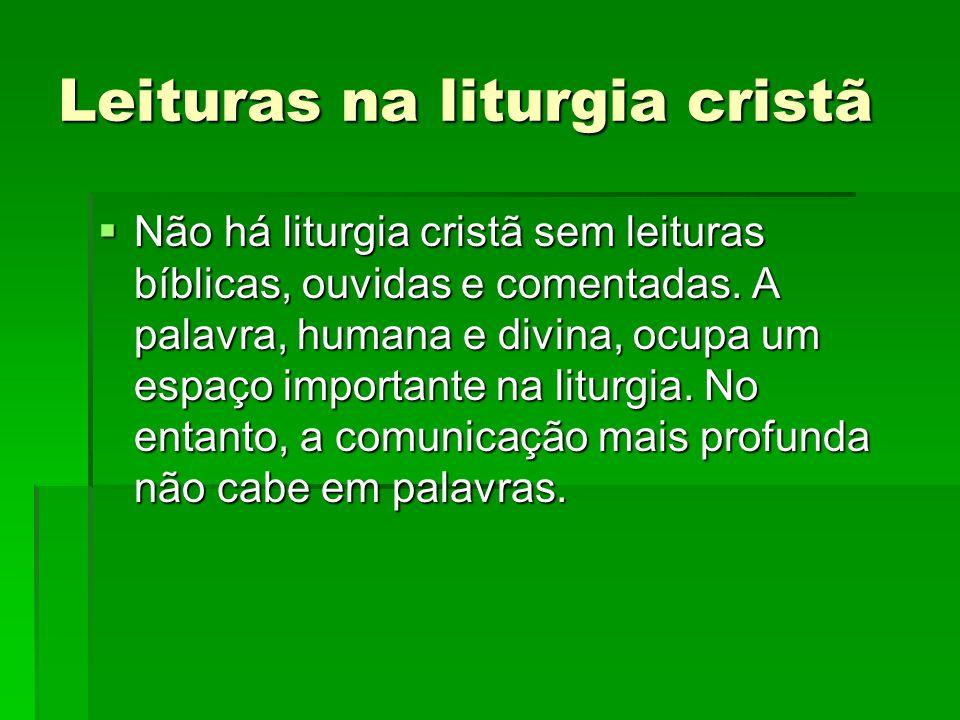 Leituras na liturgia cristã