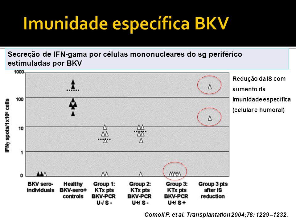 Imunidade específica BKV