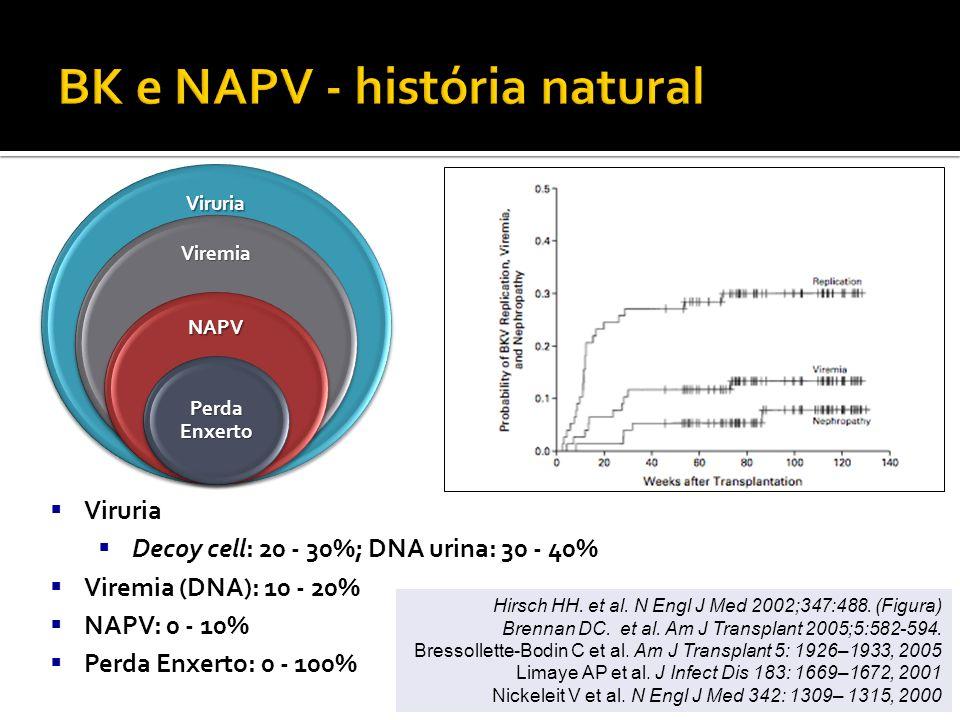BK e NAPV - história natural